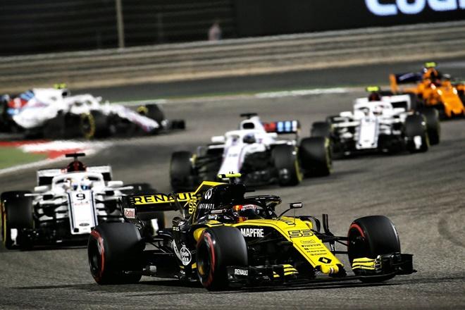f1 bahrein sainz renault