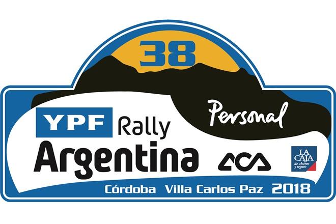 placa Rallye Argentina 2018