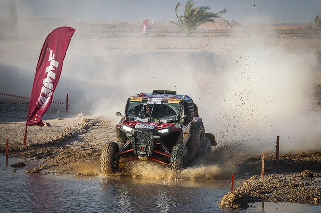 qatar rally pena polaris