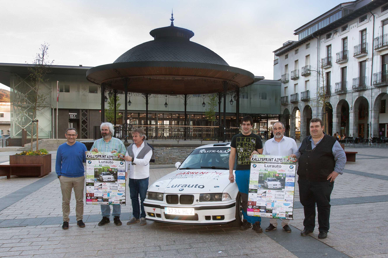 Mañana sábado se disputa el XIX Rallysprint de Azpeitia