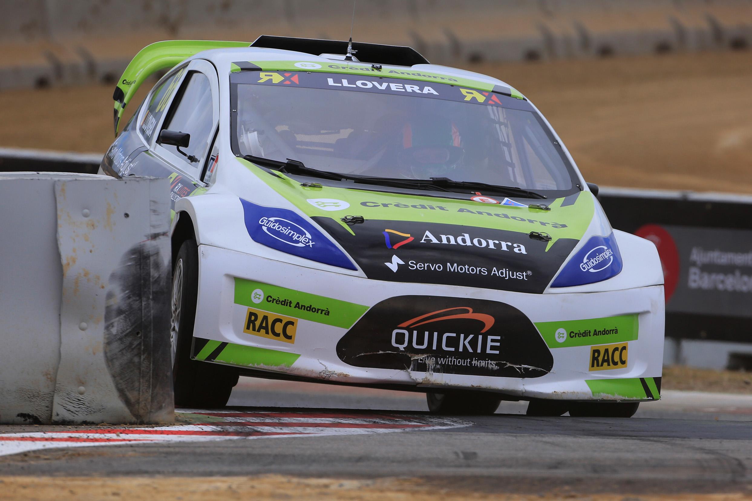Albert Llovera vuelve con fuerza al Mundial de Rallycross