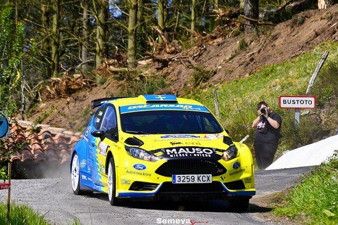 Palacio y Velasco repiten victoria en el II Rallye La Espina