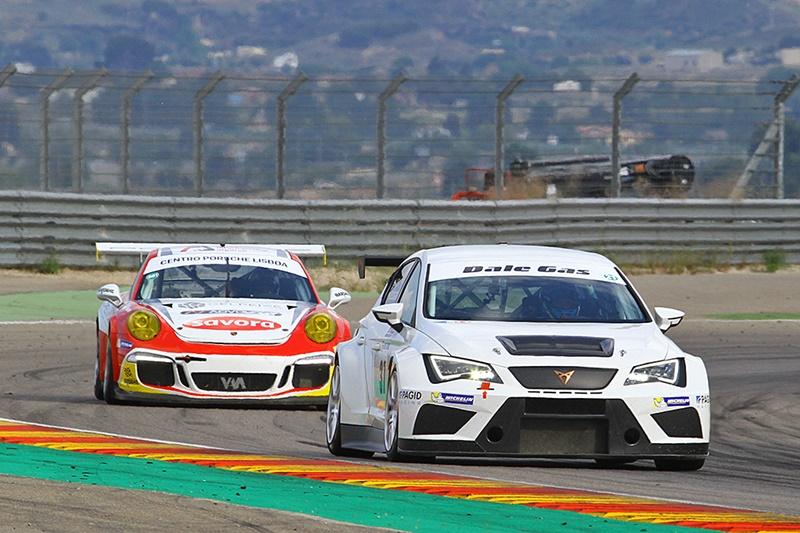 De los Milagros vence entre los TCR en Motorland Aragón