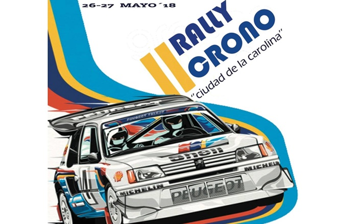 Cartel recorte placa RC La Carolina 2018