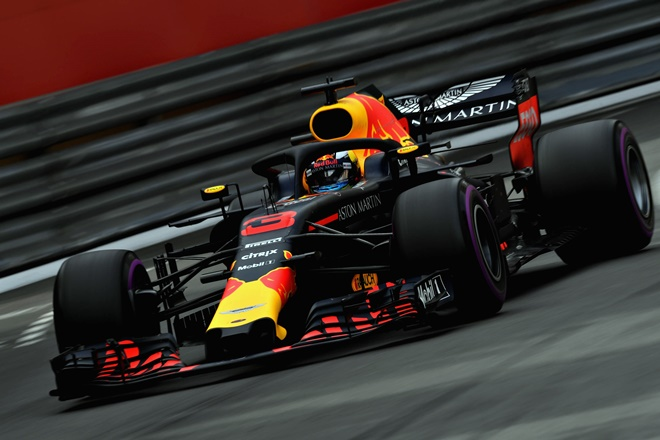 F1 Monaco Ricciardo Red Bull Racing
