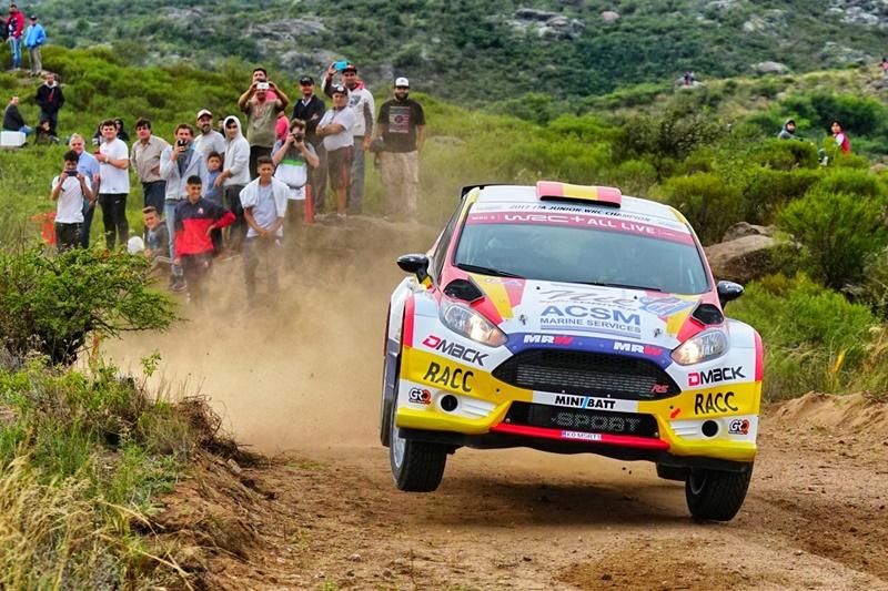 Ford Fiesta R5 Solans WRC2 pre portugal