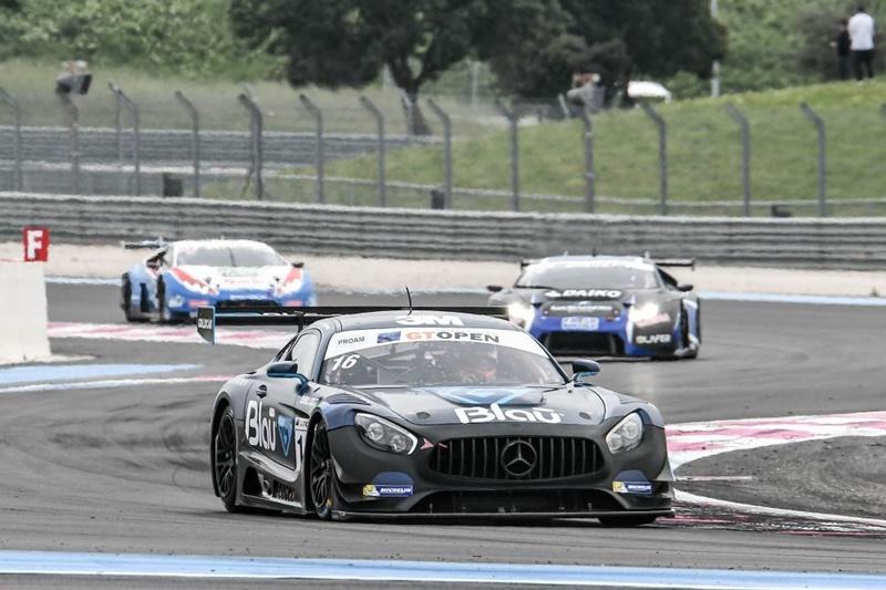 GT Open Paul Hahn-Hellmeister Mercedes GT AM carrera 2