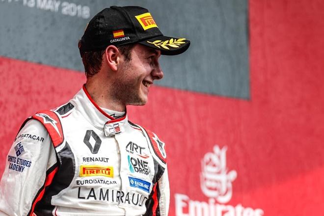 Hubert gp3 podio