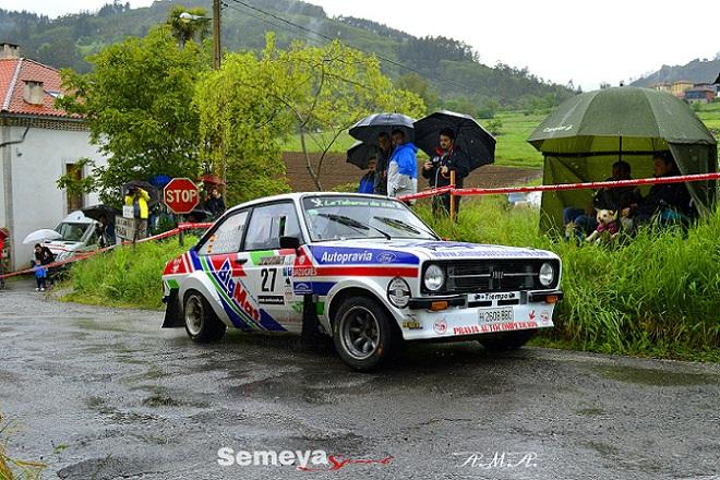 lolo García Rallye de Asturias Historico 2018