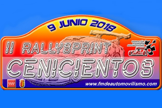 Placa Rallye Cenicientos 2018
