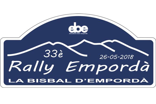 Placa Rallye EMporda 2018