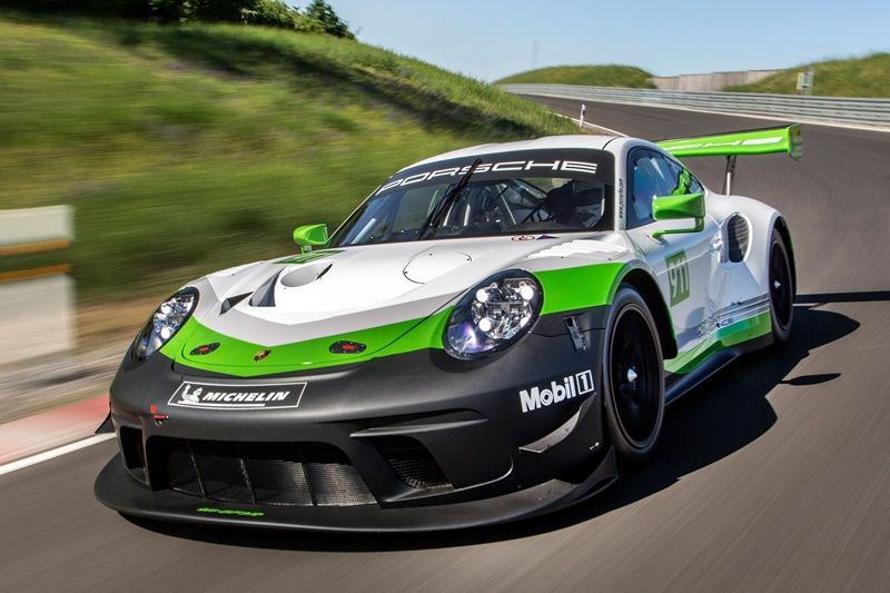 Nuevo Porsche 911 GT3 R