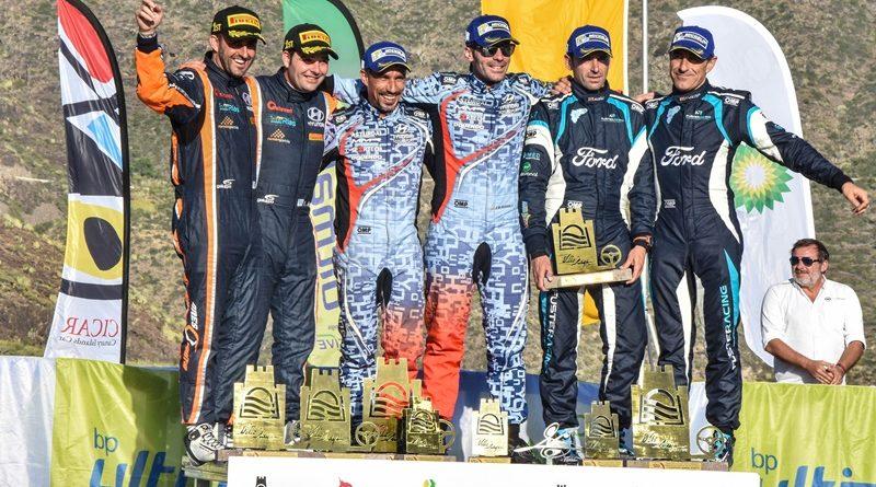Rallye Adeje Ares Suarez Fuster podio
