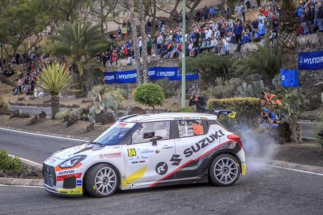 Rallye Islas Canarias Vinyes-Mercader Swift
