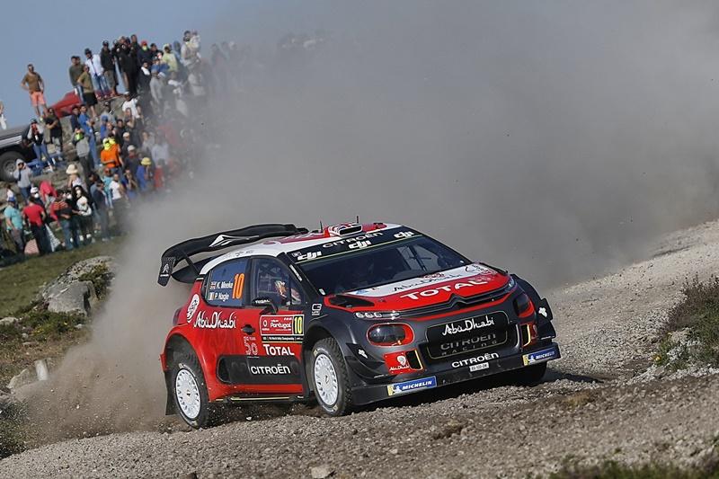 Rallye Portugal Kris Meeke Citroën C3 WRC
