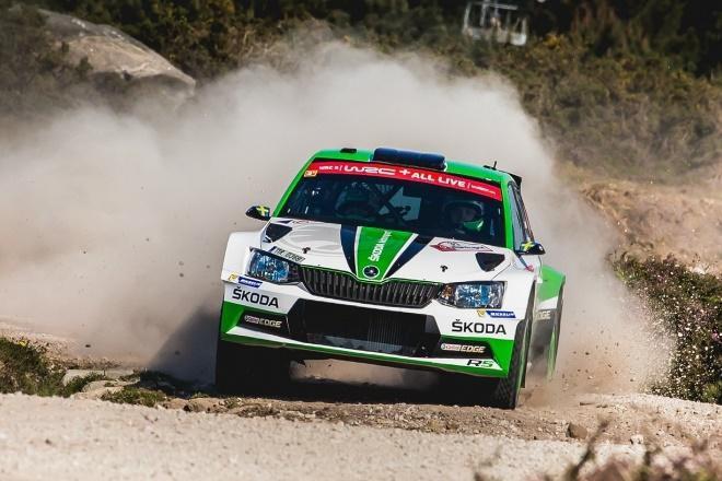 Rallye Portugal Tidemand Skoda Fabia R5 WRC2