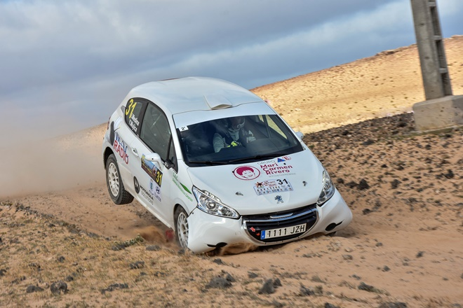 Rallye Volcanes Medina 208 R2 RaceSeven
