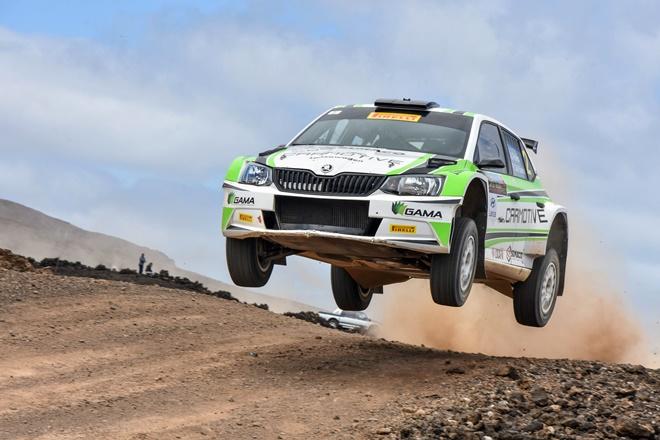 Rallye Volcanes Pelaez Fabia R5 RaceSeven