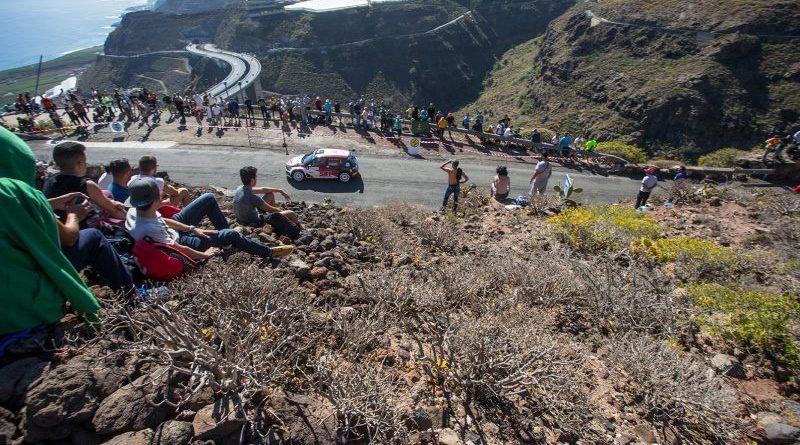 Rallye canarias Gryazin Fabia r5