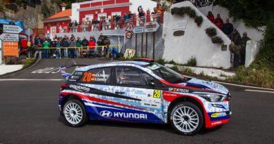 Rallye canarias Suarez hyundai i20 R5