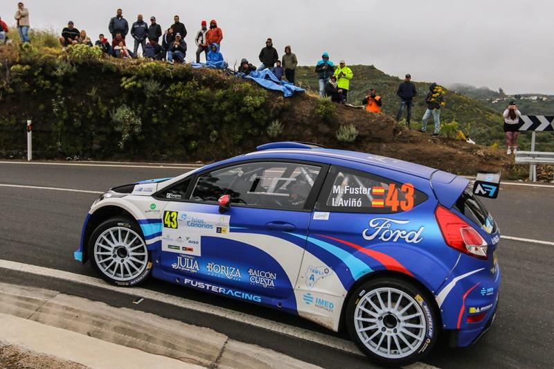 Fuster roza el podio en Canarias y mantiene el liderato del CERA