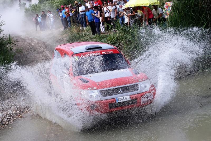 Mitsubishi lidera en el Campeonato de España de Rallyes TT