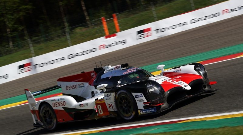 WEC 6h Spa Toyota TS 050 Alonso