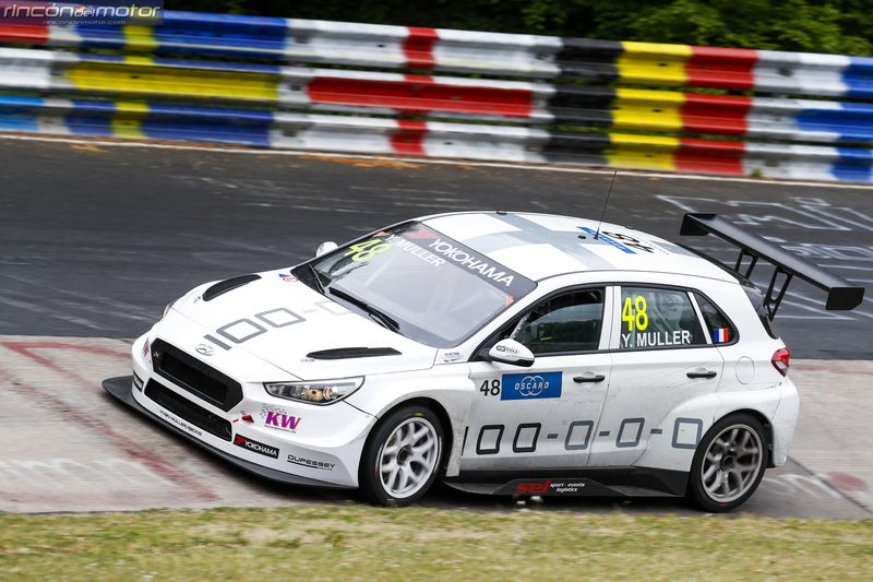 WTCR Nurburgring Muller i30