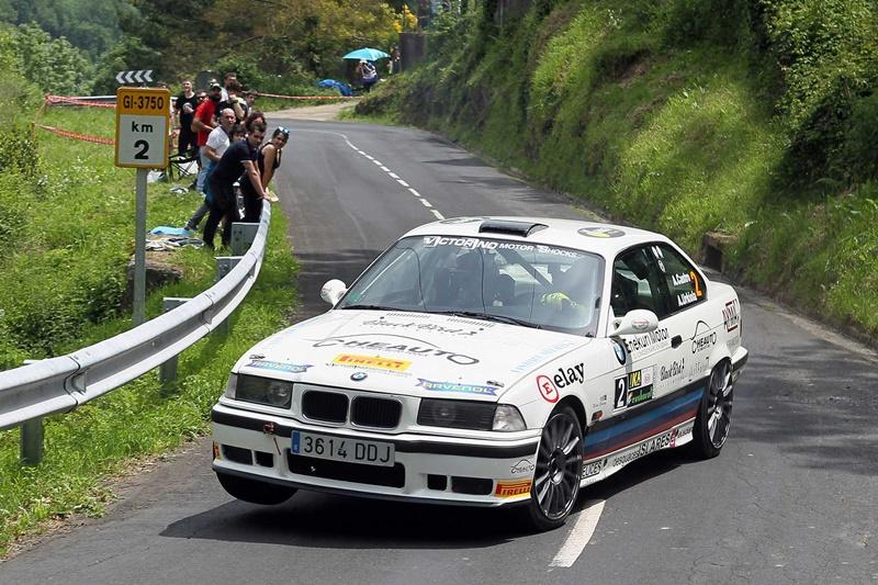 Aingeru Castro y Alaitz Urkiola ganan el X Rallysprint de Azkoitia