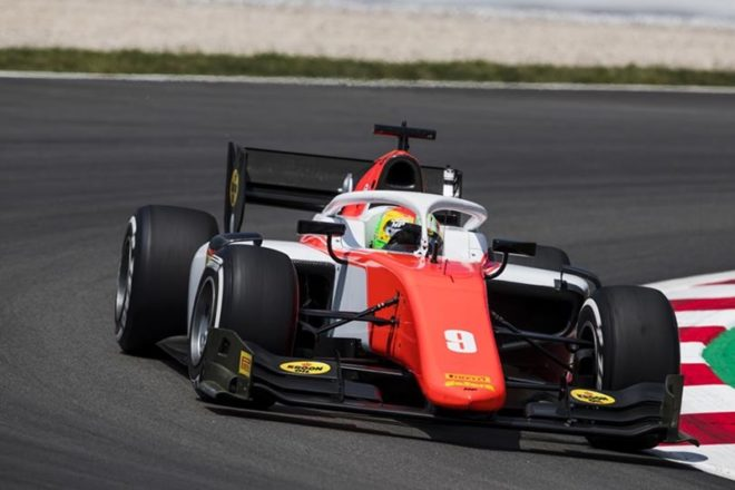 ► F2 Cataluña: Russell vencedor en la carrera sabatina