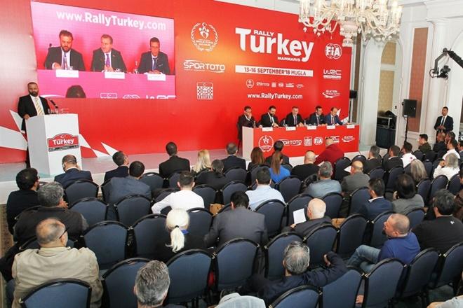 presentación rallye Turquía 2019