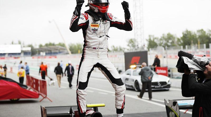 rusell cataluna carrera 1