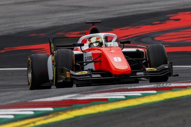 F2 Austria merhi carrera 1