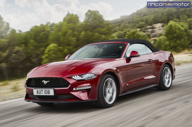 Ford Mustang Convertible 2018