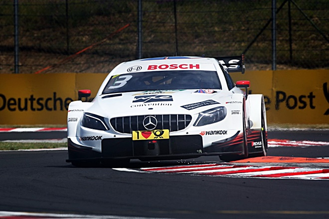 Paul Di Resta Mercedes-AMG 2018