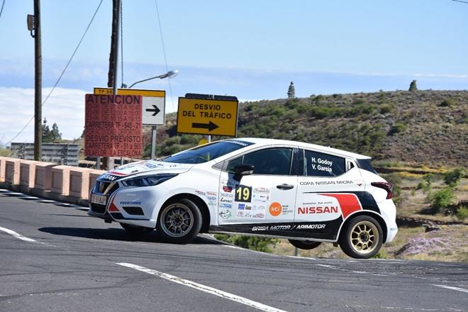 Rallye Granadilla godoy copa Nissan