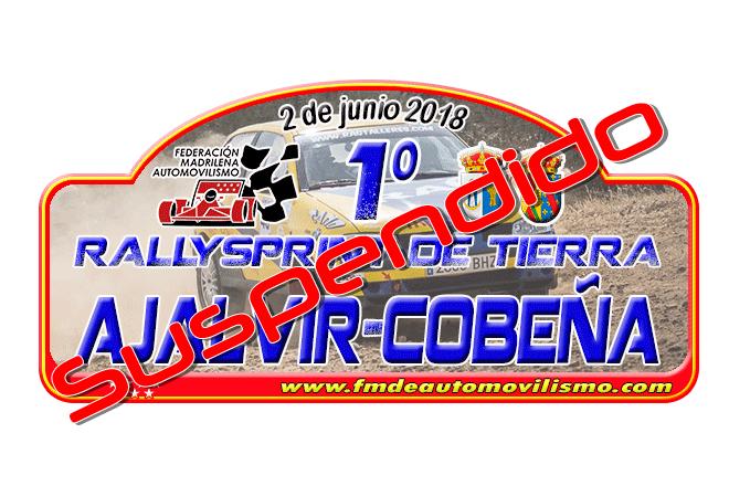 ► Madrid: Suspendido el Rallye Ajalvir-Cobeña