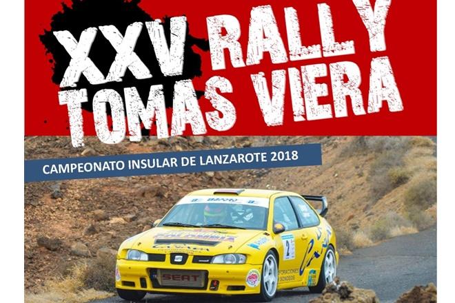 recorte Cartel 25 RallySprint Tomás Viera 2018