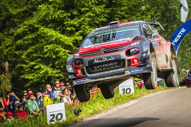Craig Breen Citroën C3 WRC salto 1007