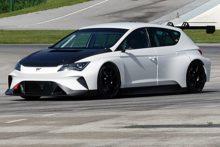 El CUPRA e-Racer ya rueda en un circuito