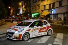 Antunes-Lopes lograron la victoria en la Peugeot Rallye Cup con una lucha de principio a fin