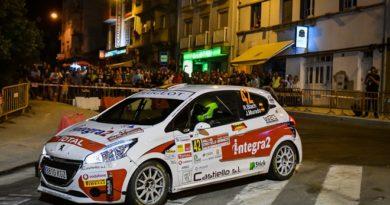 Rallye Castelo Branco Peugeot rally cup blanch