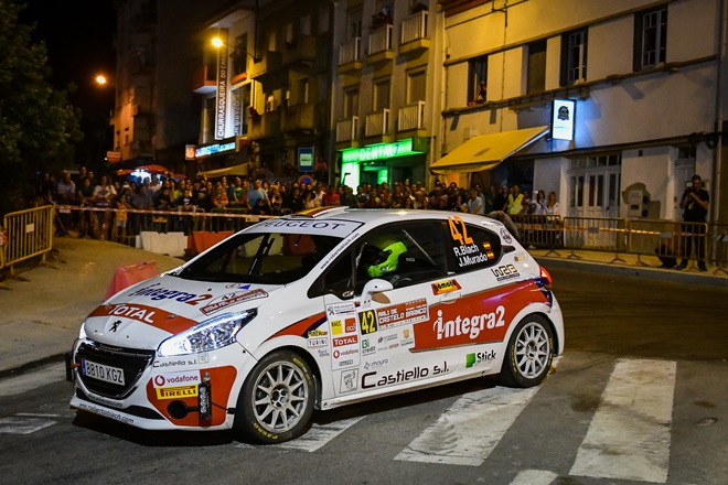 Rallye Castelo Branco Peugeot rally cup blanch