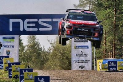El Rallye de Finlandia suspendido