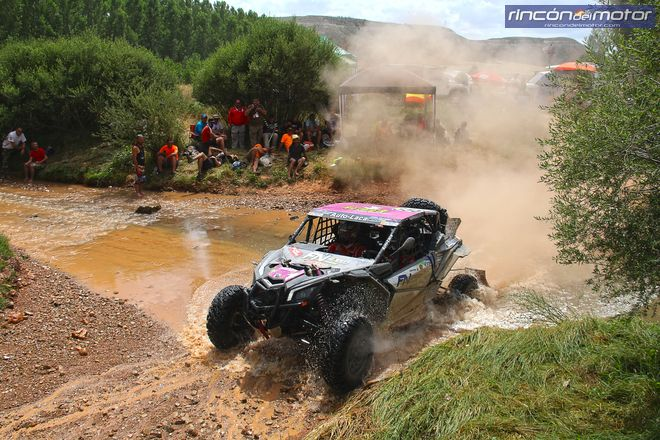 baja aragon sola-lazaro buggie Can AM Maverick X3 2307
