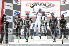 Alegría 'brasileira' en Hungaroring: Khodair-Hahn logran con Drivex su primera victoria