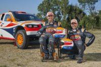 EI Repsol Rally Team inicia su cuenta atrás para el Dakar 2019 en la Baja Aragón