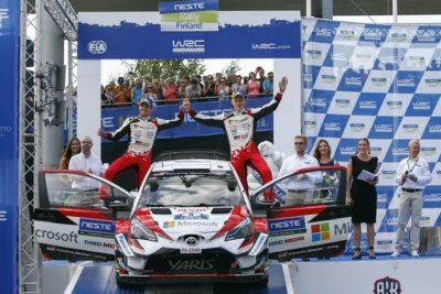 Ott Tanak y Martin Jarveoja logran una victoria con autoridad