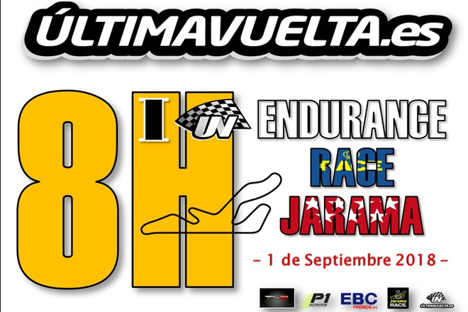 cartel 8h jarama uv 2018