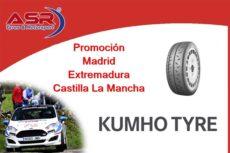 Ofertas de Kumho para Madrid, Extremadura y Castilla La Mancha